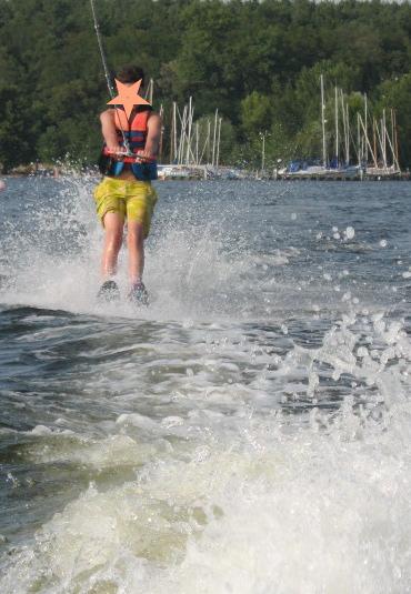 Wassersport in den Sommerferien