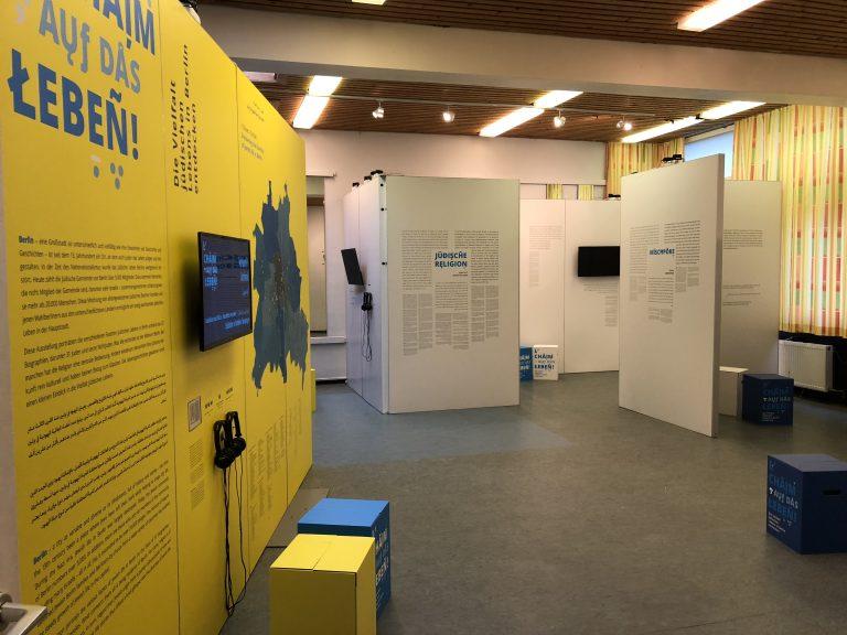 Änderung der Öffnungszeiten für die Ausstellung L'Chaim Samstags